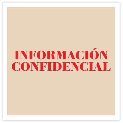 Palabras Perdidas Comuniza: información confidencial